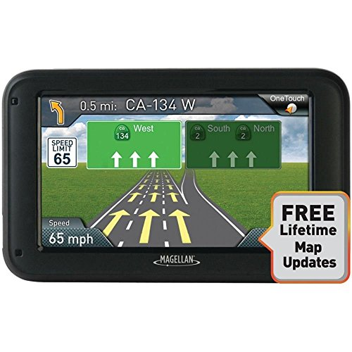 Magellan Roadmate 5322-LM 5'' Touchscreen Portable GPS Navigation System by Magellan
