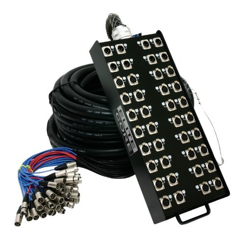 Elite Core | PS328100 | 32 x 8 Channel | 100' ft Stage Snake [並行輸入品]   B07DZLCT68