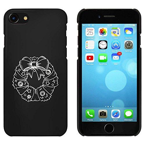 Noir 'Guirlande de Noël' étui / housse pour iPhone 7 (MC00089220)