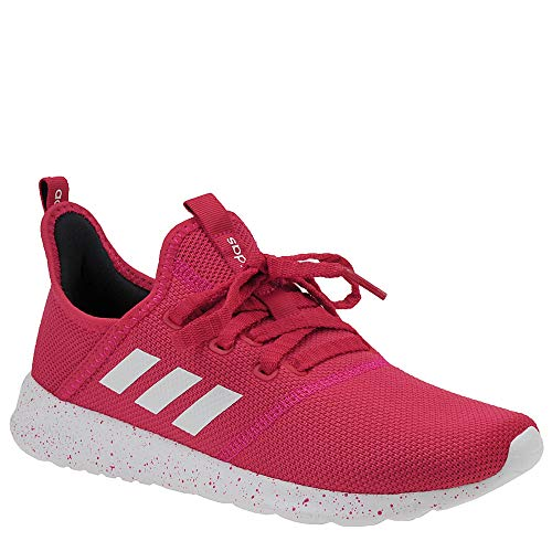 adidas Women's Cloudfoam Pure Active Pink/Footwear White/Legend Ink 9 M US