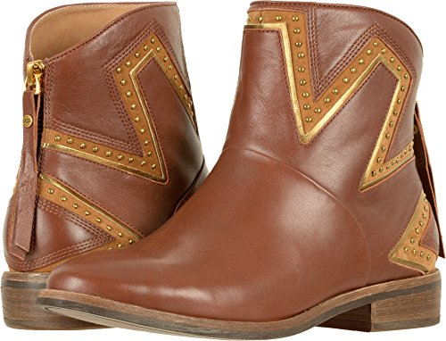UGG Womens Lars Western Boot Mid Brown Size 11