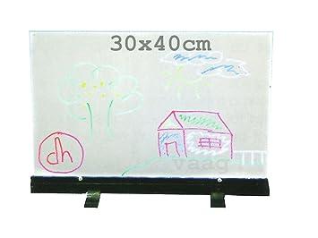 ElectroDH 81856 DH Pizarra LED sobremesa.30x40cm. 12VDC/2W ...