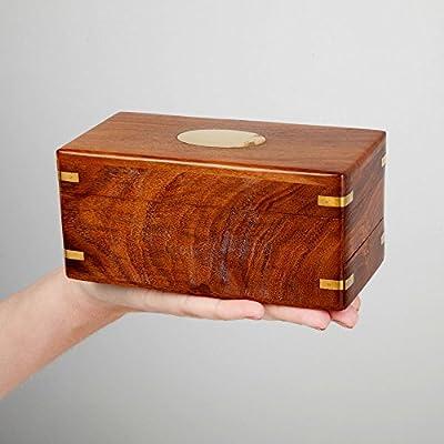 Bits and Pieces-The Secret Enigma Box - Wooden Brainteaser Puzzle ...