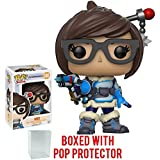 Funko Pop! Games: Overwatch - Mei Vinyl Figure (Bundled with Pop BOX PROTECTOR CASE)