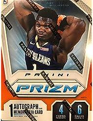 2019-20 Panini Prizm NBA Basketball Blaster Box 6 Packs - Find Zion Williamson Rookie Cards