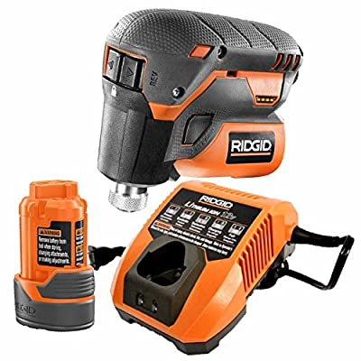 Ridgid R8224K 12-Volt Lithium-Ion 1/4 in. Cordless Palm Impact Screwdriver Kit With Battery & Charger