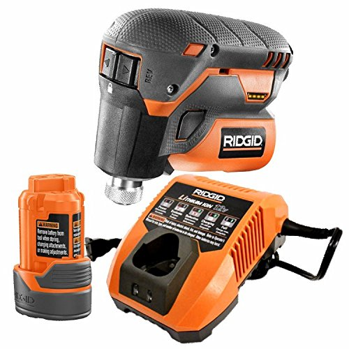 Ridgid 12-Volt Lithium-Ion 1/4 in. Cordless Palm Impact Scre