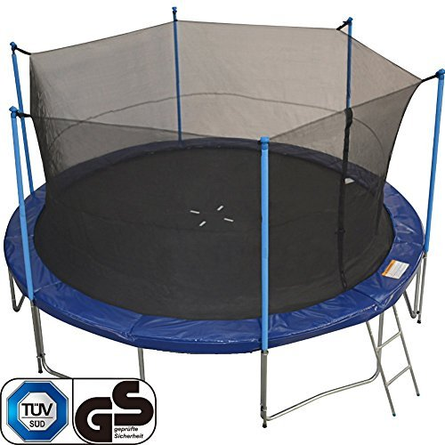 Tuv Zupapa 15 Ft Trampoline Combo Include Inside Net