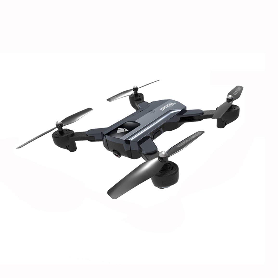 Fantasyworld Flujo óptico F196 localización Plegable Quadcopter Wi-Fi RC Aviones no tripulados con 2,0 MP Cámara HD 2200 mAh de la batería Modo sin Cabeza Aeronaves