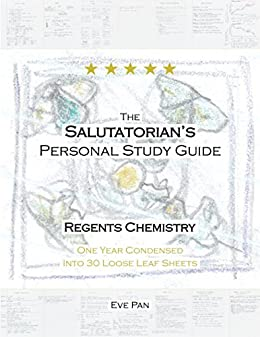 The Salutatorian's Personal Study Guide, Regents Chemistry