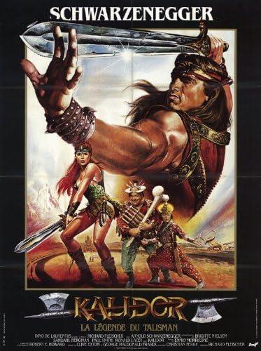 Amazon Com Red Sonja Poster Movie Foreign 11x17 Arnold Schwarzenegger Brigitte Nielsen Sandahl Bergman Prints Posters Prints
