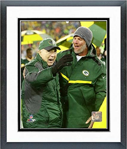 Brett Favre and Bart Starr Green Bay Packers Photo (Size: 12.5