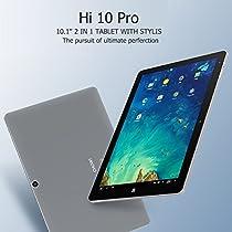 """10.1""""IPS CHUWI HI10 Pro Tablet PC 1920x1200 Windows 10 Android5.1 Intel Cherry Trail Z8350 64bit Quad Core 1.44GHz Bluetooth HDMI 4GB RAM 64GB ROM BT OTG HD Type-C"""
