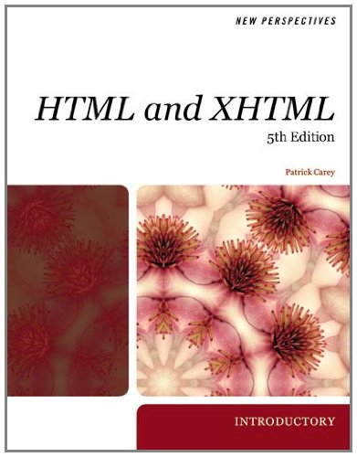 New Perspectives on HTML and XHTML, Introductory (Available Titles Skills Assessment Manager (SAM) - Office 2010) by Cengage Learning