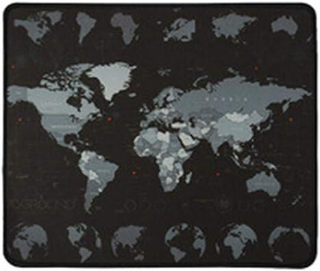 COTTILE Mapa del Mundo Alfombrilla de ratón Alfombrilla de ...