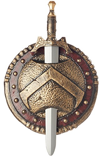 California Costumes Spartan Combat Shield And Sword Costume Accessory