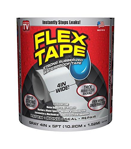 Flex Tape Rubberized Waterproof Tape, 4