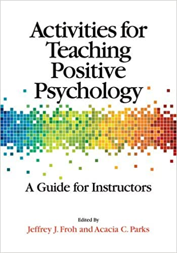 Amazon.com: Activities for Teaching Positive Psychology: A Guide ...