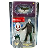 : Gotham City Thug (Happy Mask, Hair on Sides) with Crime Scene Evidence Movie Masters Action Figure