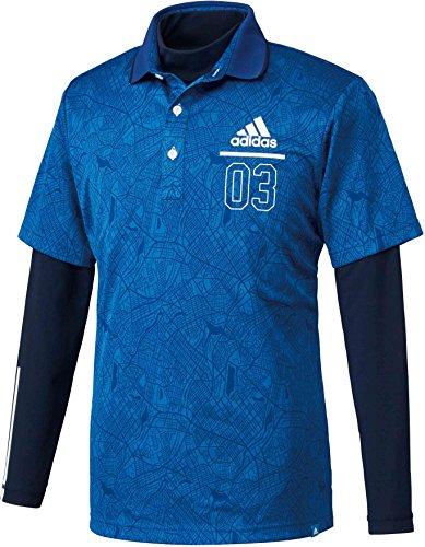 (adidas Golf(アディダスゴルフ) adidas Golf(アディダスゴルフ) ADICROSS シティパターン レイヤードポロ