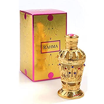 Rahma - Arabian Designer Therapeutic Essential Perfume Oil Fragrance - Long Lasting Attar / Itar /
