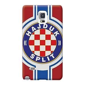 Samsung Galaxy Note 4 Poi704ODlk Unique Design Realistic Hajduk Split Football Team Flag Sport Series Protector Hard Cell-phone Cases -TrevorBahri