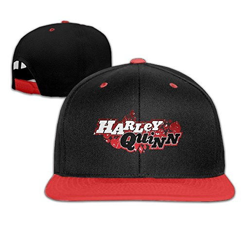 [MaNeg Suicide Squad Logo Unisex Hip Hop Baseball Cap&Hat] (Dancing With The Stars Costumes Designs)