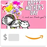 Amazon eGift Card - With Thanks on Mother's Day (Animated)