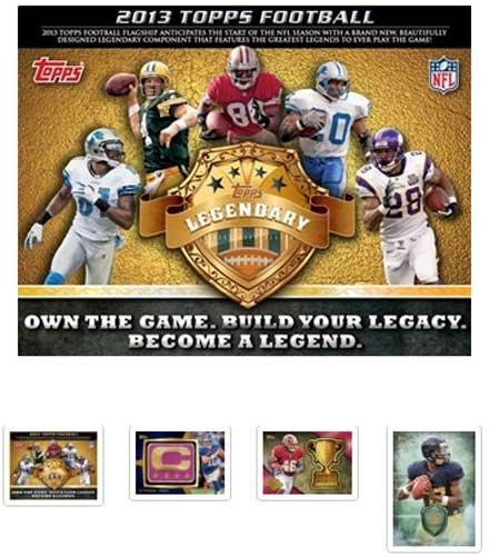 2013 Topps Football Hobby Box (36 Packs / 10 Cards Per Pack)