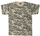 Rothco T-Shirt, Acu Digital Camo, 4X