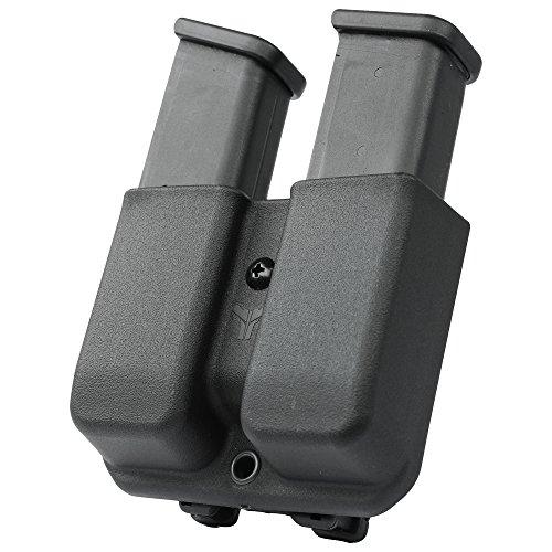 Blade-Tech Industries Glock 9/40 Signature Series Double Mag Pouch Tek-Lok Attachment, Black