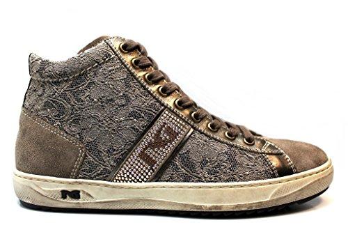 Donna Nero Comode Giardini Scarpe Sneakers P719243D Calzature Tortora Tortora xwSqFga