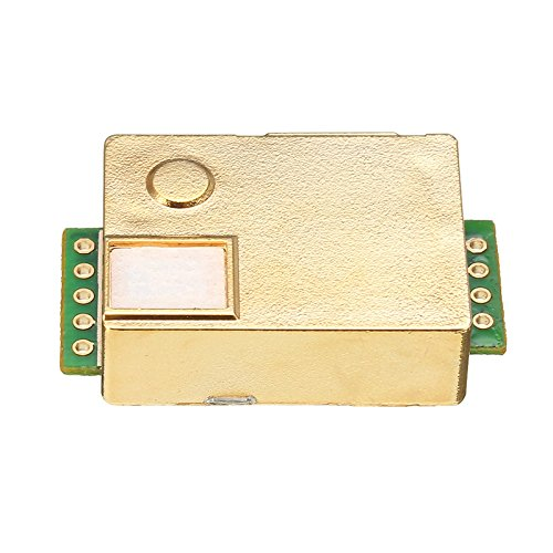 (Quickbuying 1PCS MH-Z19 Infrared CO2 Sensor module For Indoor Air Quality Monitor 0-5000PPM 33 x 20 x 9 mm Modules boards)