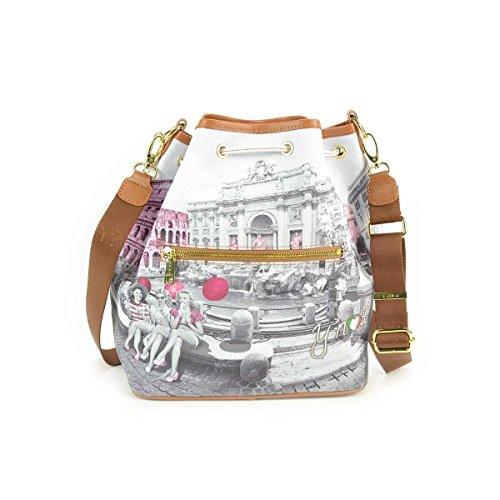 54d26c71d3 Borsa donna a Secchiello Y Not stampa Roma Pink Girls – F335 trova ...