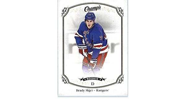 Amazon.com  2015-16 Upper Deck Champs  167 Brady Skjei New York Rangers  Hockey Rookie Card  Collectibles   Fine Art 470ba0948