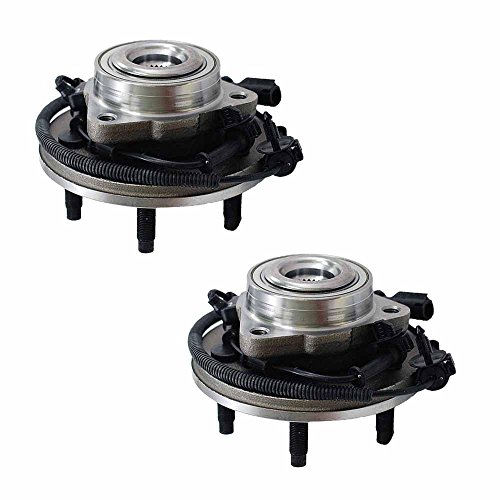Longgo HU515050 Wheel Hub and Bearing Assembly with Bolts Front Pair (Set of 2) - Explorer, Aviator, Mountaineer