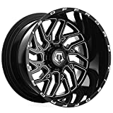 TIS 544BM Black Milled 20x12 8x180 -44mm (544BM-2128944)