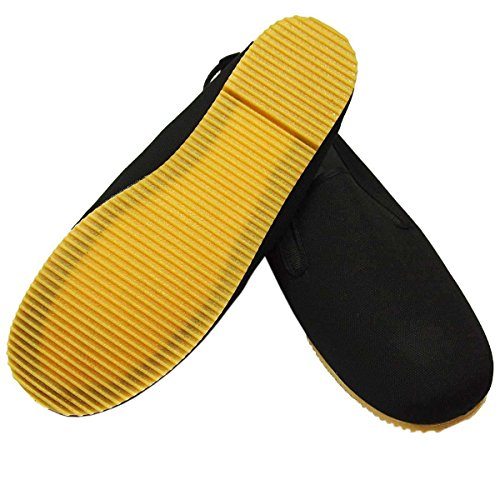 Kung Fu Schuhe mit heller Gummisohle