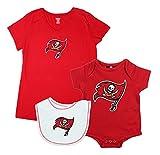 NFL Reebok Womens Tampa Bay Buccaneers Maternity Pack, Red