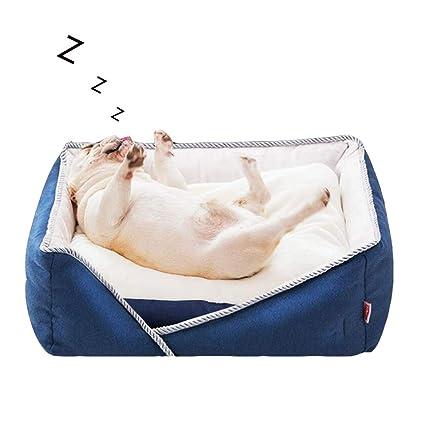 ACLBB Cama de Cuatro Estaciones para Mascotas, sofá portátil para Mascotas Desmontable y fácil de