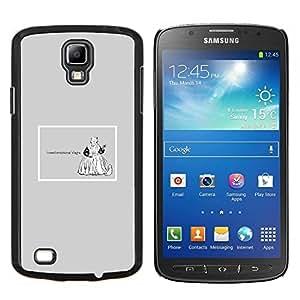"""Be-Star Único Patrón Plástico Duro Fundas Cover Cubre Hard Case Cover Para Samsung i9295 Galaxy S4 Active / i537 (NOT S4) ( Emociones Viagra Cita divertida Vida motivación"""" )"""