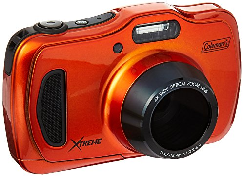 Coleman 20.0 Mega Pixels Waterproof HD Digital Camera with 4X Optical Zoom & 3