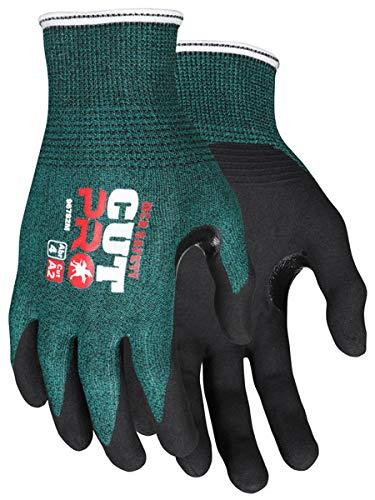 MCR Safety 96782XL Cut Pro 18 Gauge Hypermax Shell Gloves, Size XLarge (12 Pair)