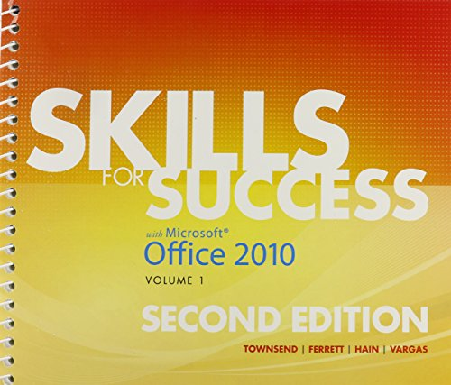 Skills for Success with Office 2010, Volume 1, and myitlab