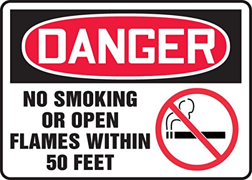 Accuform MSMK052VP Plastic Safety Sign, Legend