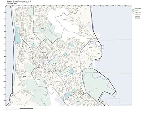Amazon.com: ZIP Code Wall Map of South San Francisco, CA ZIP ... on palo alto zip code map, san francisco zip code zones, newport oregon zip code map, tallahassee zip code map, fair oaks zip code map, atlanta zip code map, central valley zip code map, new york city zip code map, la zip code map, nashville zip code map, san francisco bay zip codes, us postal zip code map, las vegas zip code map, hawaii zip code map, universal city zip code map, menlo park zip code map, claremont zip code map, oakland zip code map, san francisco area zip codes, san francisco ca zip codes,