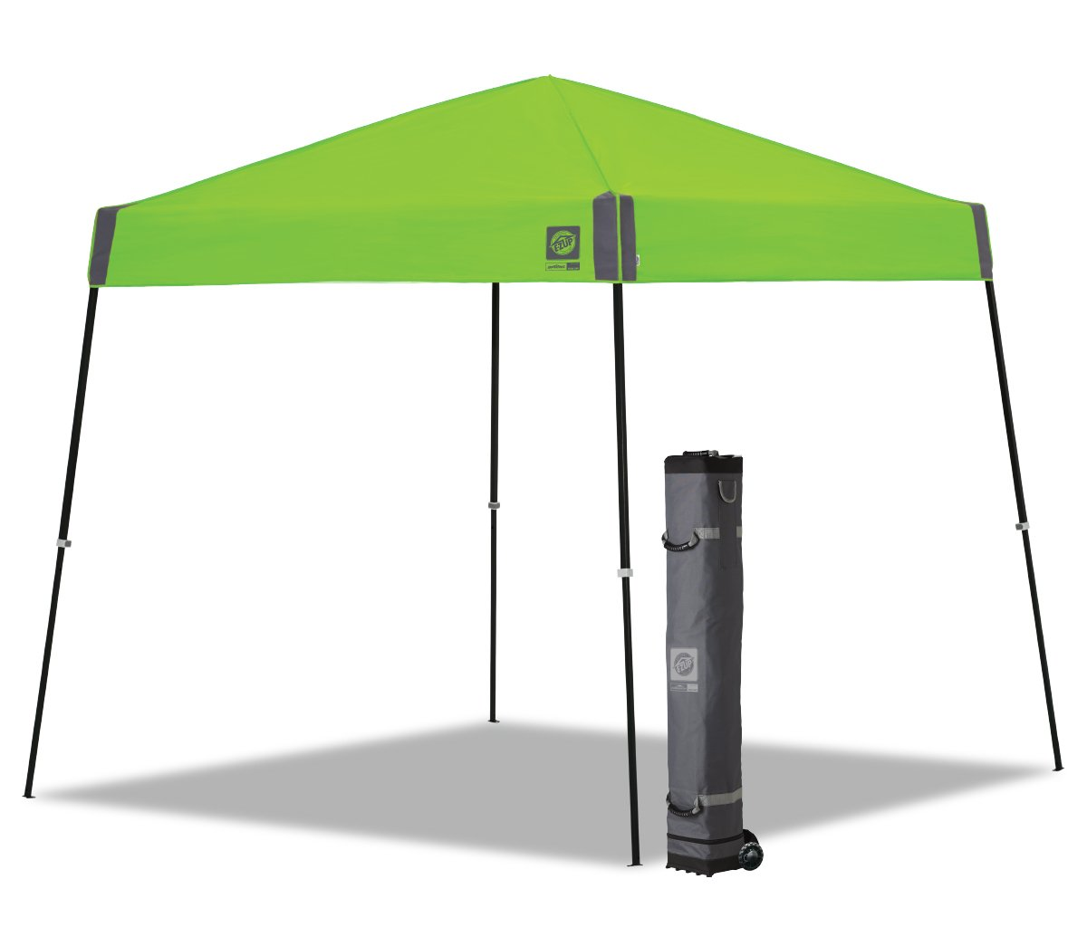 E-Z UP Sprint Instant Shelter Canopy, 10 by 10', Kiwi