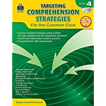 Targeting Comprehension Strategies for the Common Core Grd 4