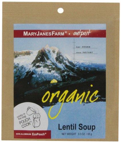 Mary Janes Farm Organic Lentil (MaryJanesFarm Lentil Soup, 3.3 Ounce)