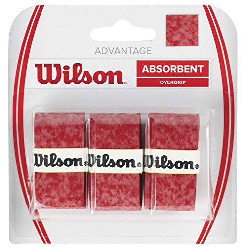 Wilson Advantage Tennis Racquet Over Grip (Pack of 3)